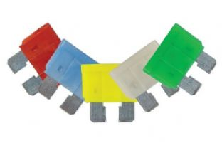 Connect 37138 LED Blade Fuse Assorted Blister 10/15/20/25/30amp 5 Pc